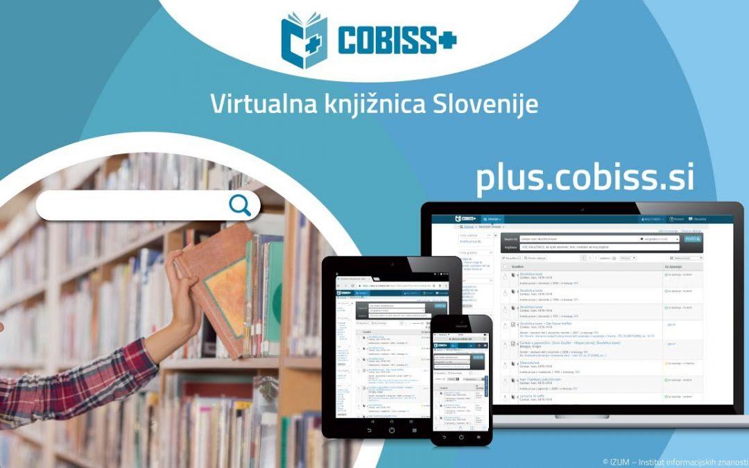 Kako rezerviram gradivo v novem Cobiss+?