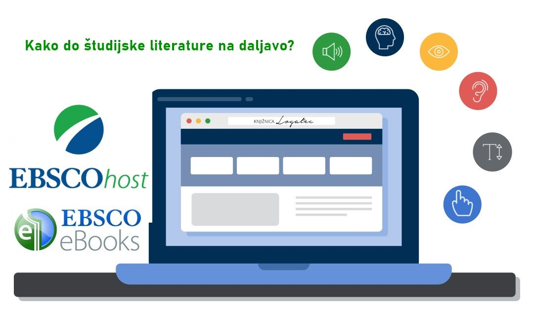 Dostop do strokovne literature na daljavo